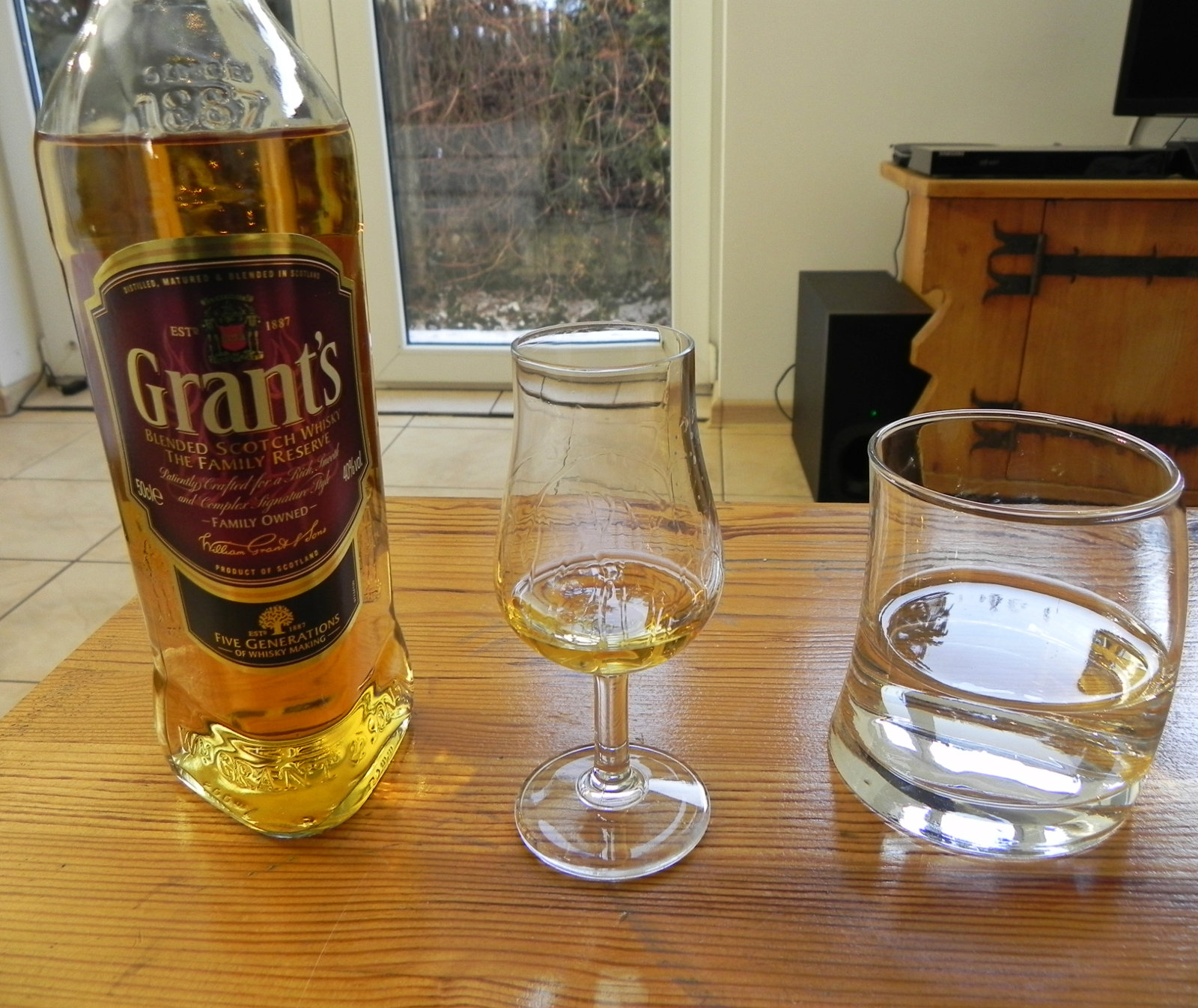 Grant's Family Reserve blended scotch whisky