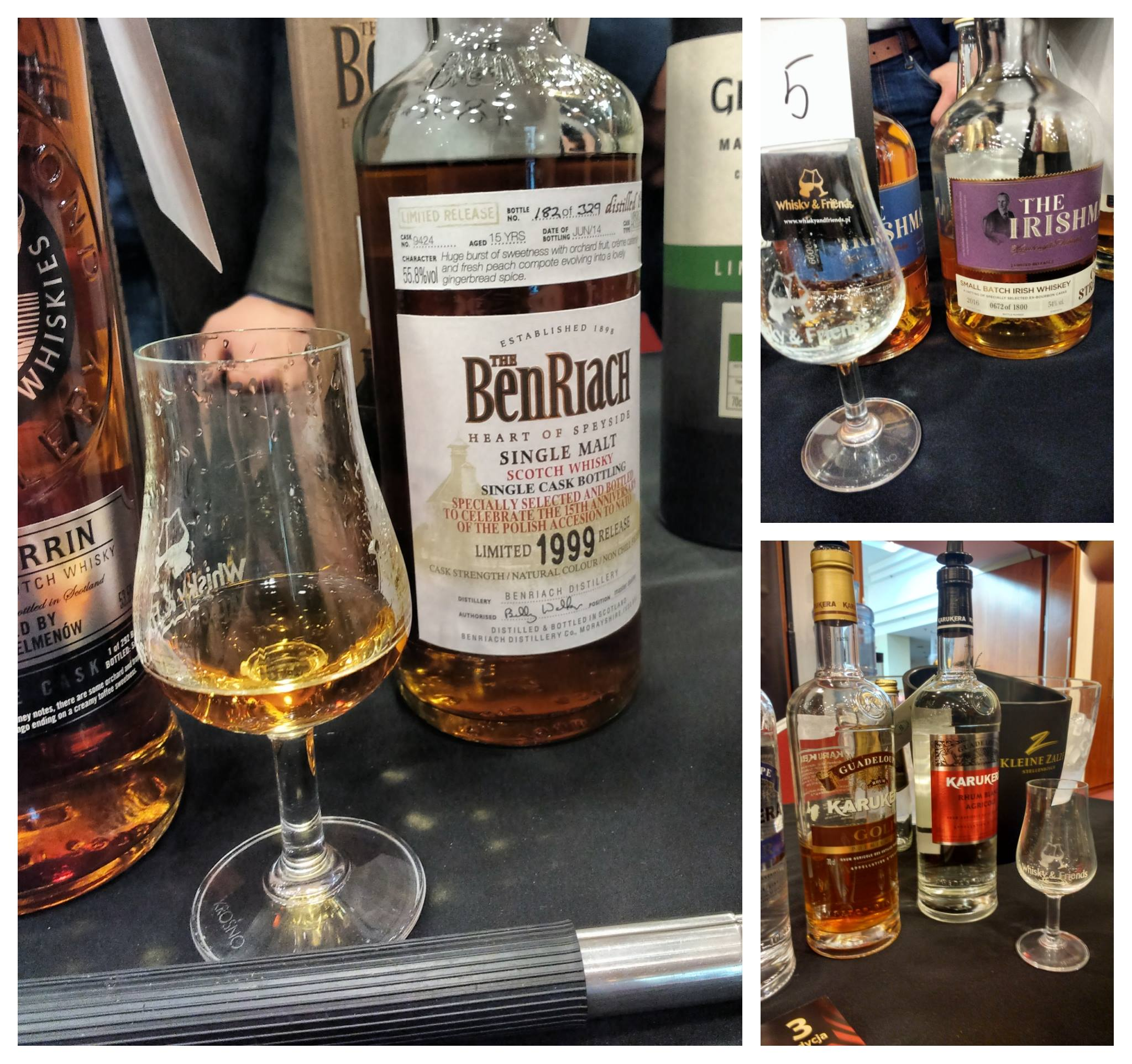 Whisky And Friends 2018 kolaż pierwszy